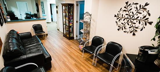 Bay Hills Family Dentistry Waiting Room