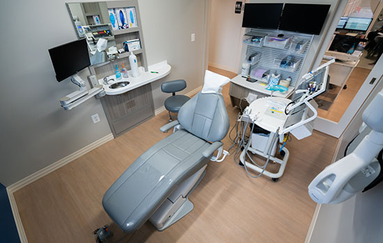 Patient Room at Bay Hills Family Dentistry in Arnold, Maryland